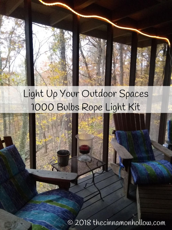 Light Up Your Outdoor Entertaining Area With Rope Lights