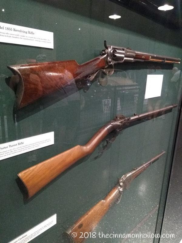 Alcatraz East Museum Bearing Arms 2nd Amendment Display
