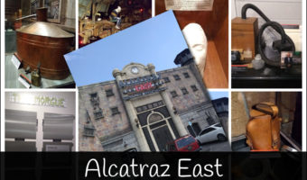 Alcatraz East Museum Collage