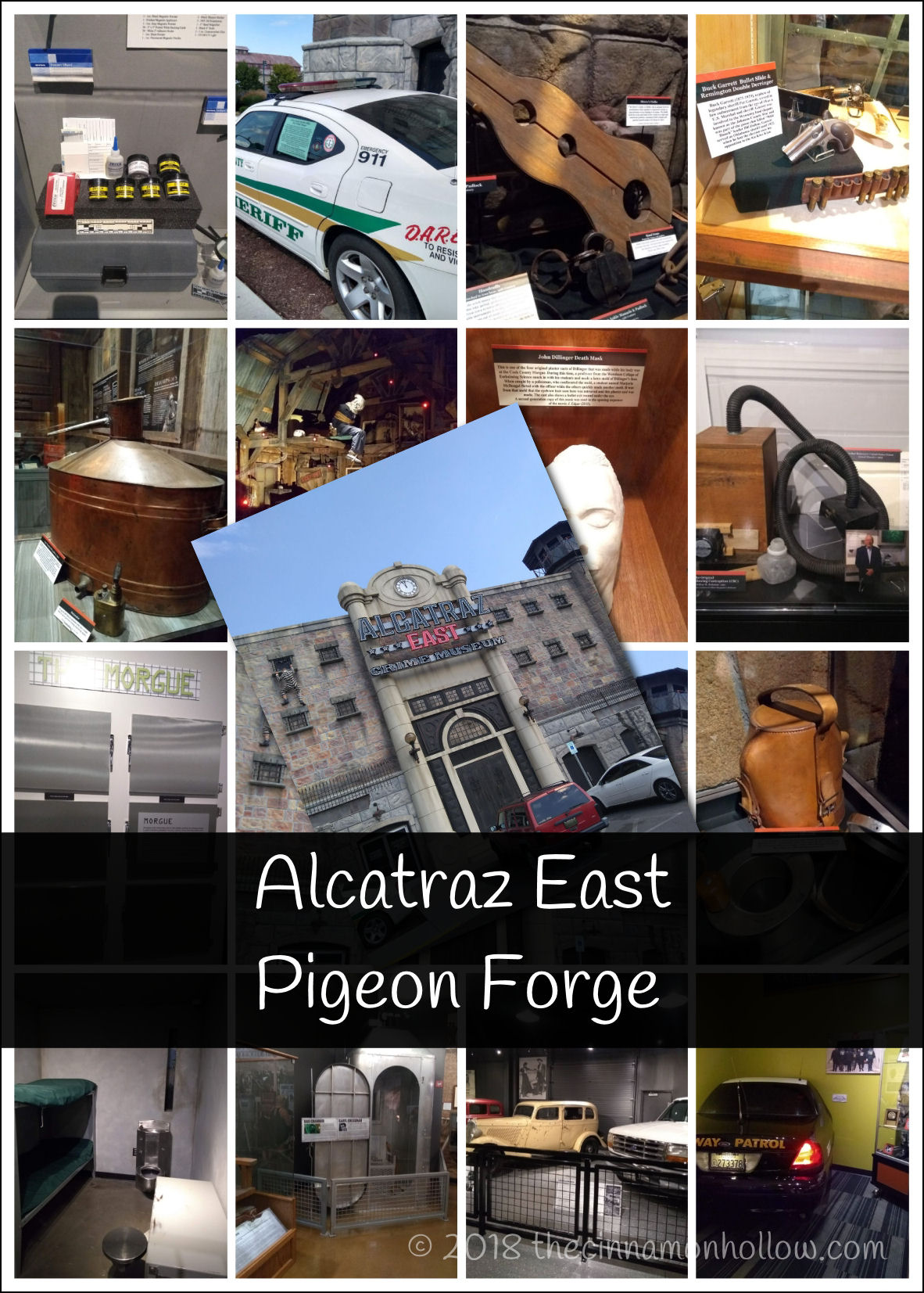 Visit The Alcatraz East Crime Museum In Pigeon Forge
