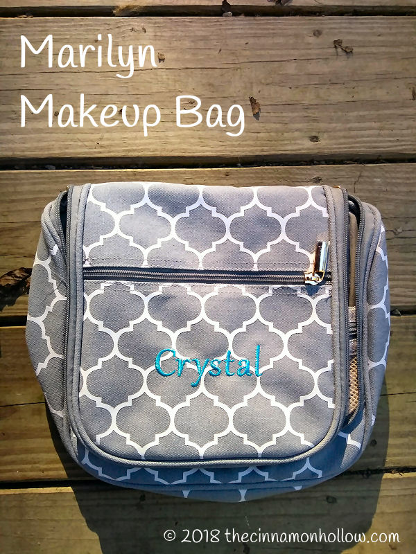 Bridesmaids Gifts Boutique: <br /> Marilyn Personalized <br /> Makeup Bag
