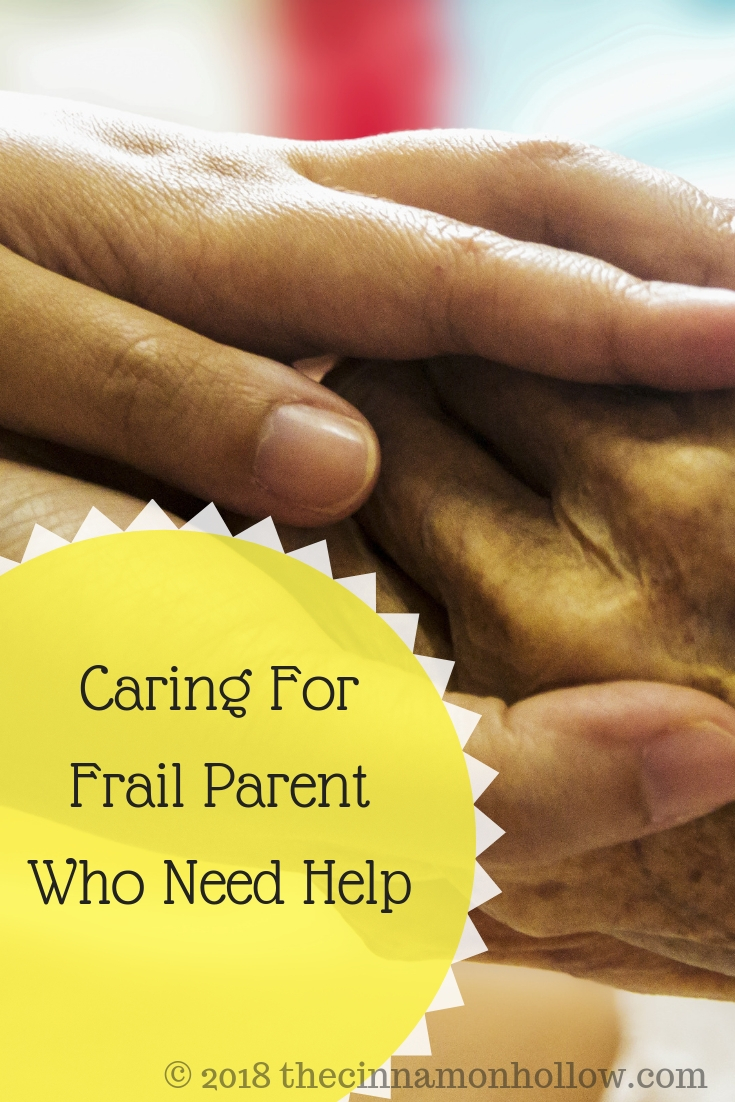 Caring For Frail Parents Who Need Help