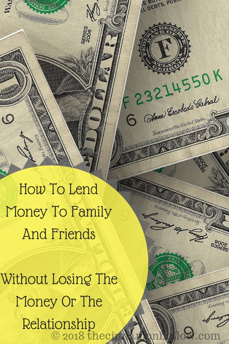 How To Lend Money To Family And Friends Without Losing The Money Or The Relationship