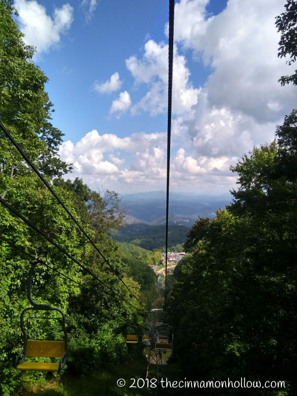Ober Gatlinburg Chairlift View
