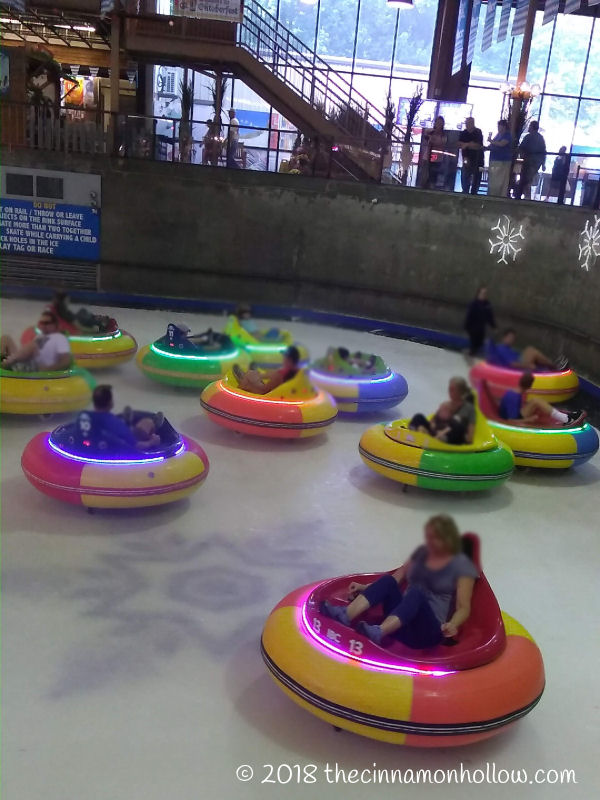 Ober Gatlinburg Ice Bumper Cars In Use