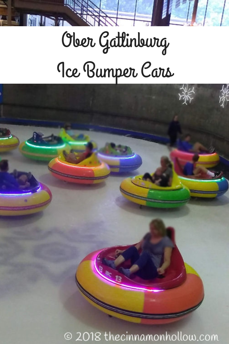 Check Out Ober Gatlinburg's New Ice Bumper Cars!