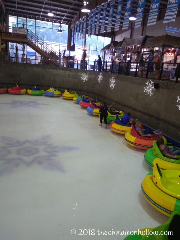 Ober Gatlinburg Ice Bumper Cars