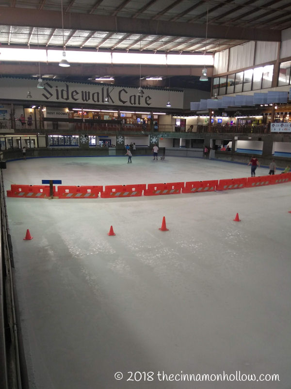 Ober Gatlinburg Ice Skating Rink Divided