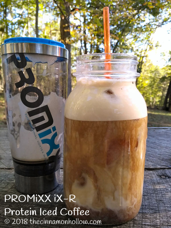 Protein Iced Coffee Made With The PROMiXX iX-R