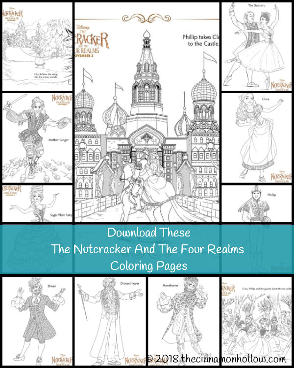 Download The Nutcracker And The Four Realms Coloring Pages