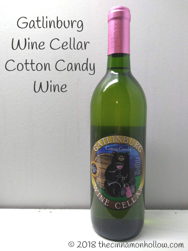 Gatlinburg Wine Cellar Cotton Candy Wine