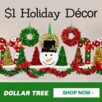 Flat Rate Shipping: Enjoy Dollar Tree $4.95 Flat Rate Shipping For One Week!