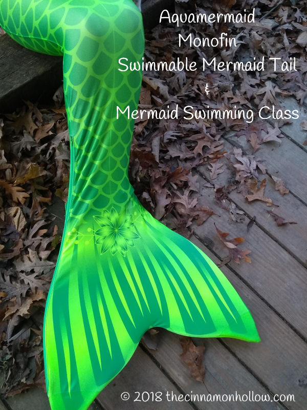 Mermaid Swimming Class - Aquamermaid Swimmable Mermaid Tail And Monofin