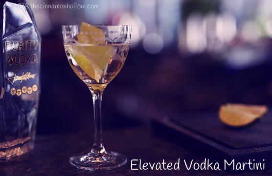 Elevated Vodka Martini