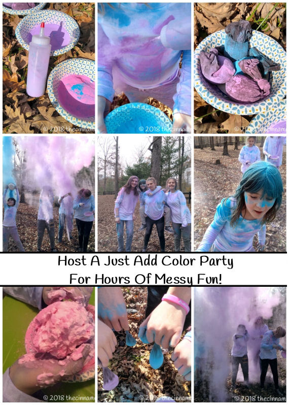 Just Add Color Party