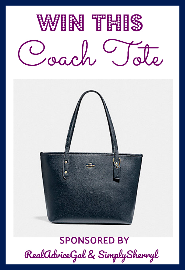 Enter Our Coach Tote Giveaway!