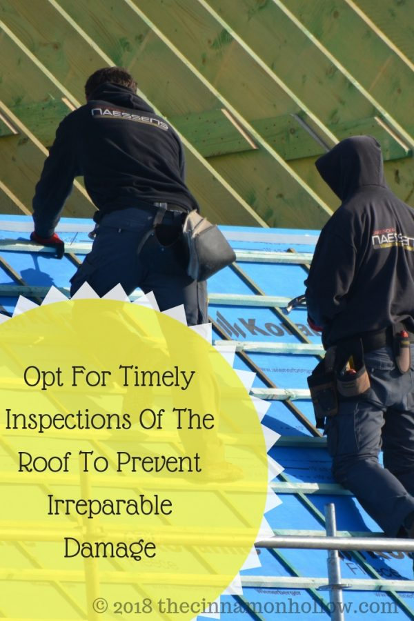 Opt For Timely Inspections Of The Roof To Prevent Irreparable Damage