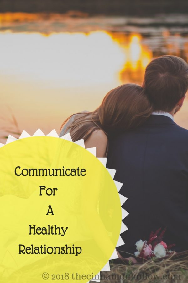 Communicating for a healthy relationship