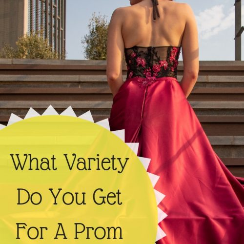 What Variety Do You Get For A Prom Dress?