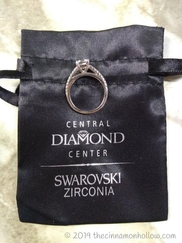 Mama's Jewelry Asscher Cut Swarovski Zirconia Solitaire