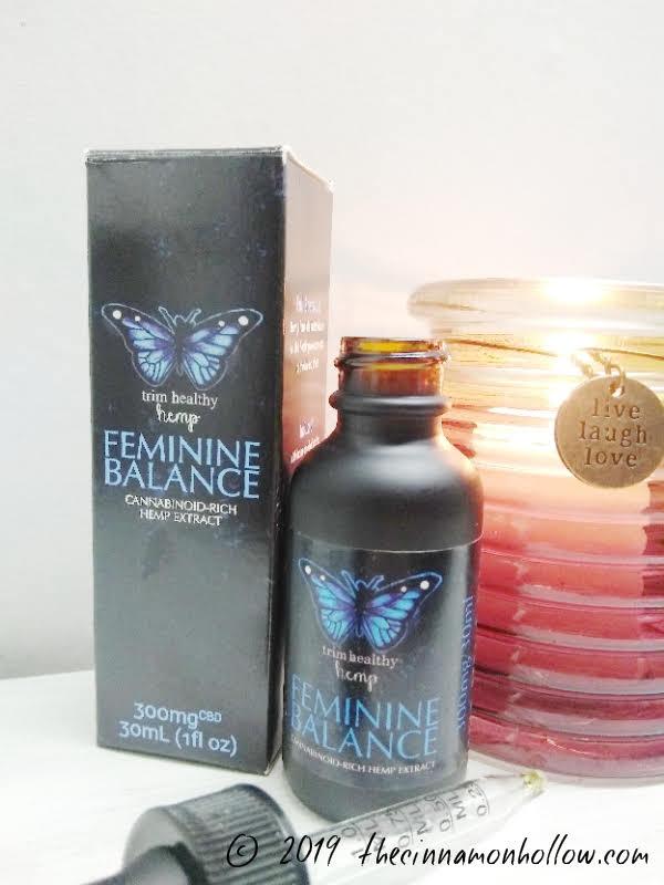 THM Feminine Balance CBD Oil