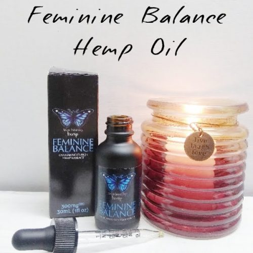 My THM Feminine Balance Hemp CBD Oil Review