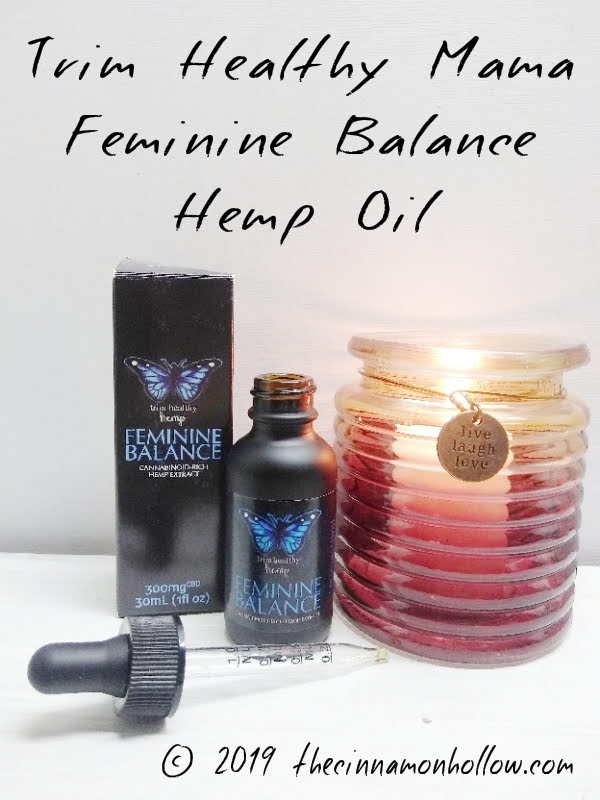 Trim Healthy Mama Feminine Balance Hemp Oil