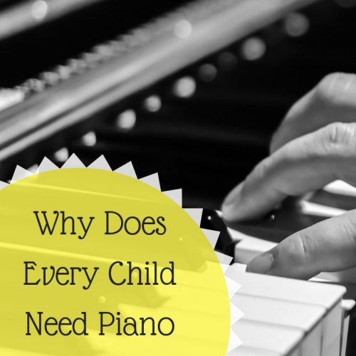 Why Does Every Child Need Piano Lessons?