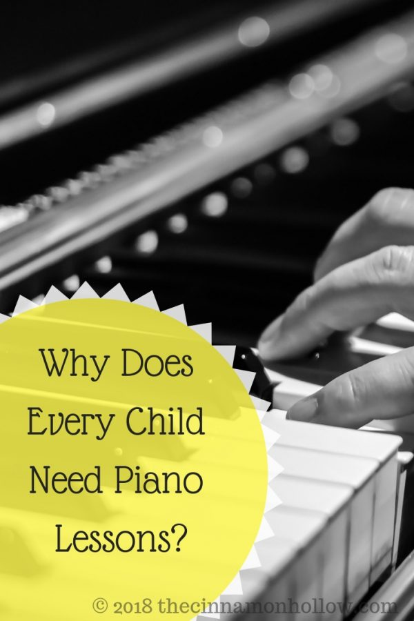Why Does Every Child Need Piano Lessons