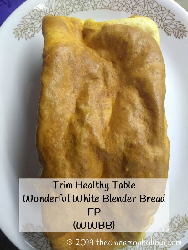 Trim Healthy Table Wonderful White Blender Bread FP