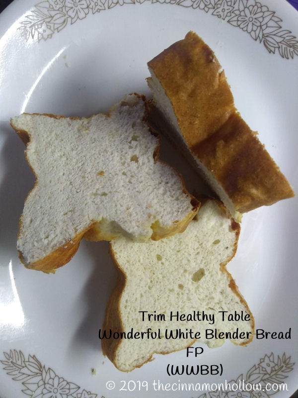 Trim Healthy Table Wonderful White Blender Bread Sliced