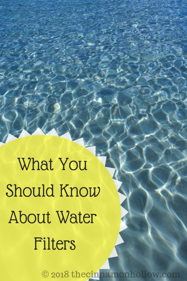 What You Should Know About Water Filters