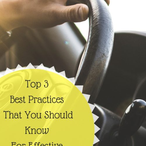Top 3 Best Practices That You Should Know For Effective Defensive Driving