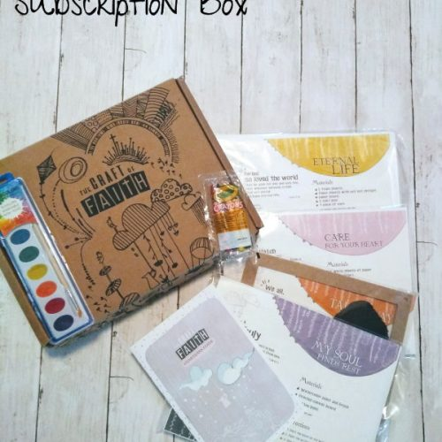 Easter Gift Idea: The Craft Of Faith Easter Crafting Kit