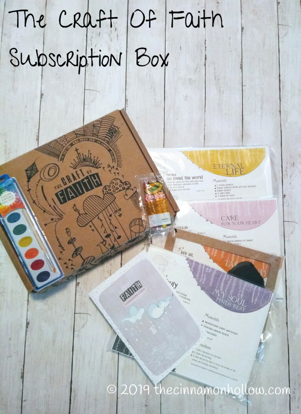 Craft Of Faith Subscription Box