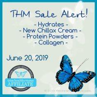 Order THM Hydrates & New Chillax Hemp Oil Cream