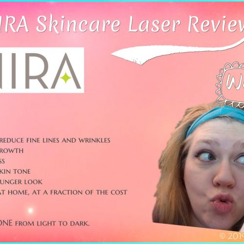 NIRA Skincare Laser Review & Video: Reduce Wrinkles Around The Eye