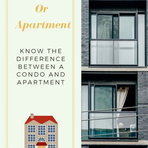Know The Difference Between A Condo And Apartment