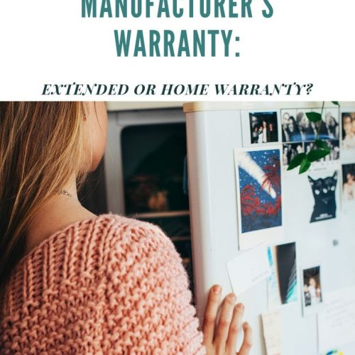 Boosting The Manufacturer's Warranty: Extended Or Home Warranty?