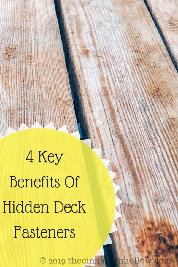 Hidden Clips And Deck Fasteners