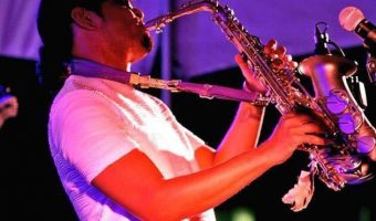 Adrian Crutchfield Fort Harrod Jazz Festival