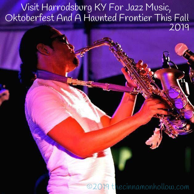 Harrodsburg, KY Adrian Crutchfield Fort Harrod Jazz Festival