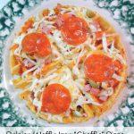 Deep Dish Chaffle Pizza