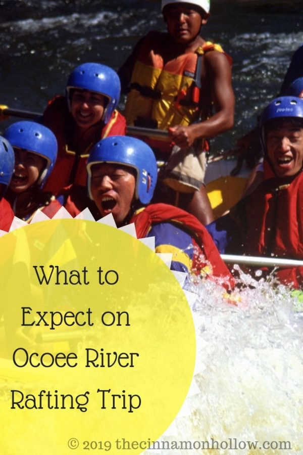 What to Expect on Ocoee River Rafting Trip