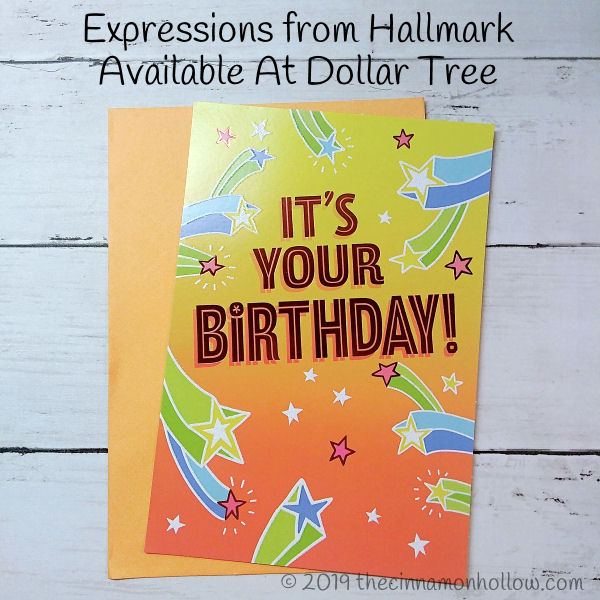Expressions From Hallmark Company Greeting Cards Available At Dollar Tree