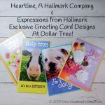 Heartline A Hallmark Company Greeting Cards Available At Dollar Tree - Exclusive Designs