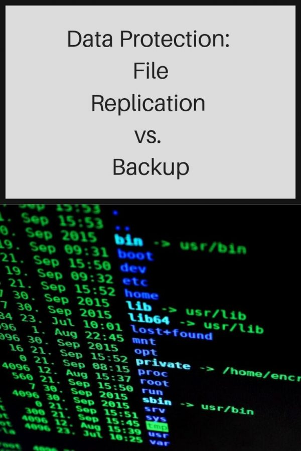 File replication software.