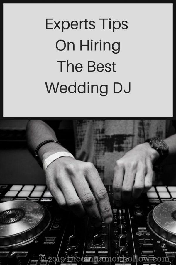 Hiring the Best Wedding DJ
