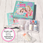 Glam Lab Science Bath Bomb Making Kit: Mother/Daughter Crafting Fun