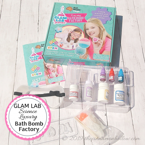 Glam Lab Science Bath Bomb Factory